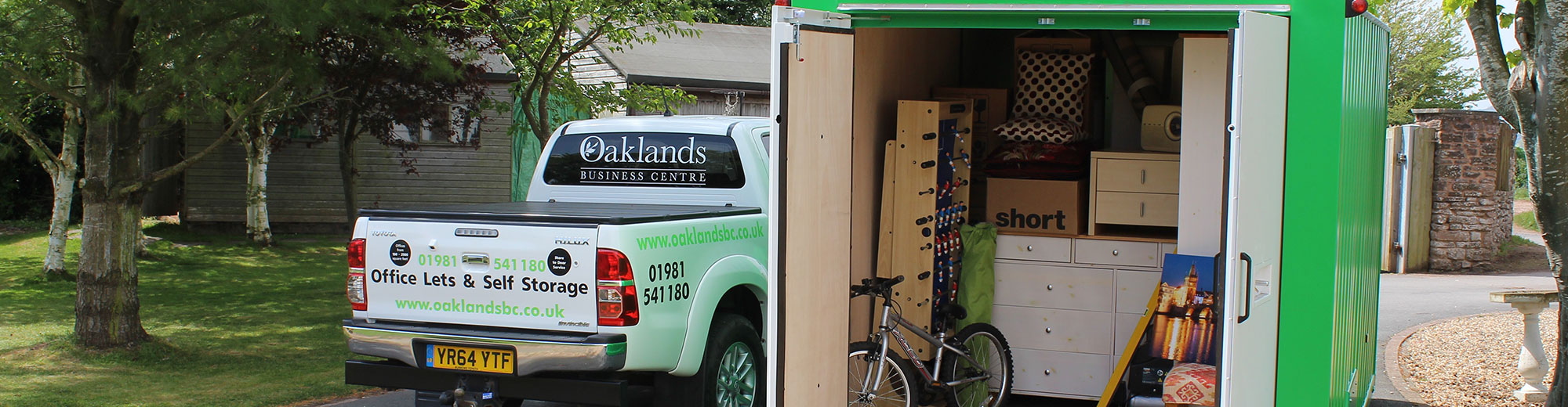 Self Storage in Lydney, Cinderford, Ross-On-Wye and Monmouth